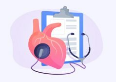 אייקון של לב עם סטטוסקופ